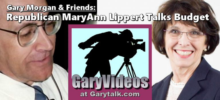 Gary Talks State Budget With Republican MaryAnn Lippert