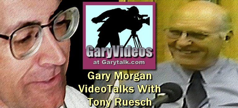 Gary Talks With Tony Ruesch: 30 Years of Public Service